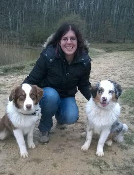 Mélanie Hennion, pension canine Au bonheur des chiens