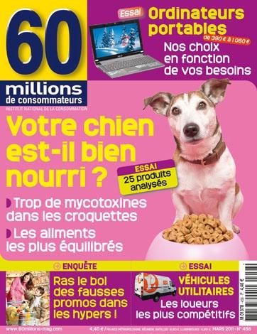 Fabuleux Comparatif des croquettes pour chien CD02