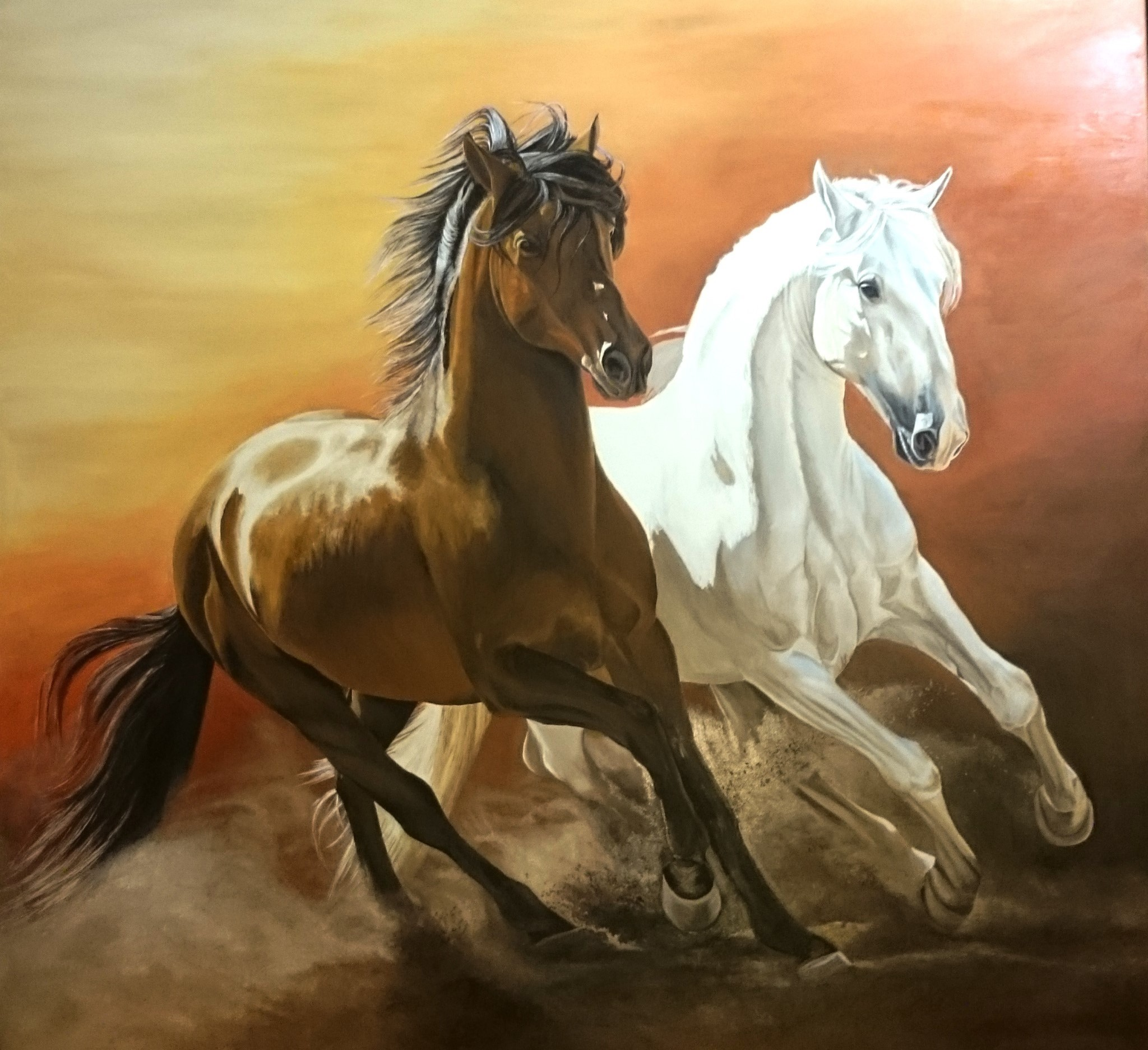 Peinture Portrait Animalier