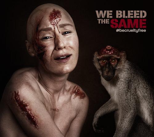 Flora Borsi, We bleed the same