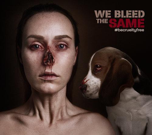 We bleed the same, Flora Borsi