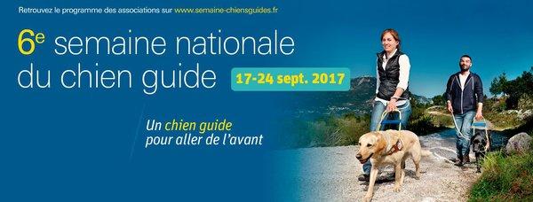 Semaine nationale du Chien Guide d'Aveugle