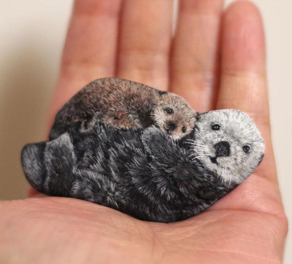 stone artist Akie Nakata