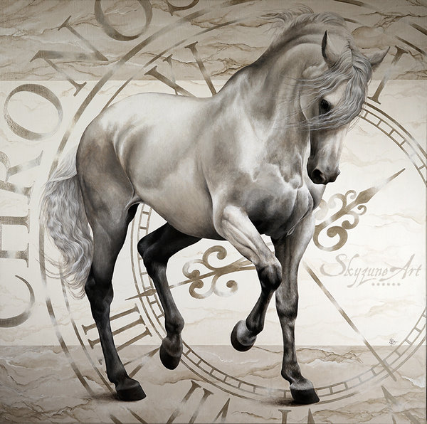 Skyzune, Chronos, portrait équin