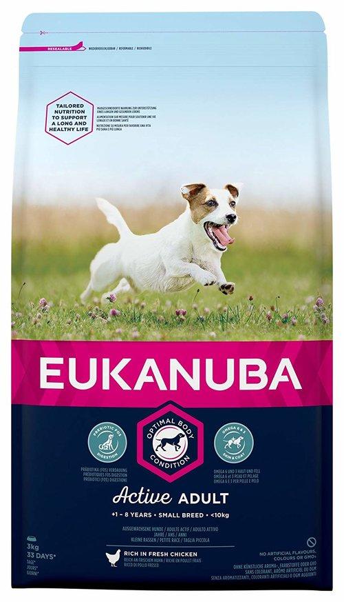 croquettes Eukanuba chien adulte de petite race