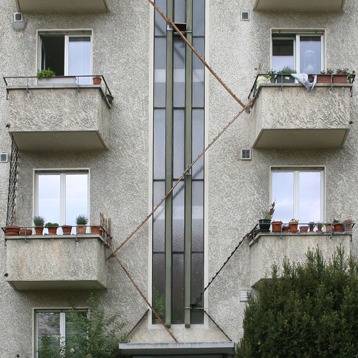 escaliers pour chats à Berne