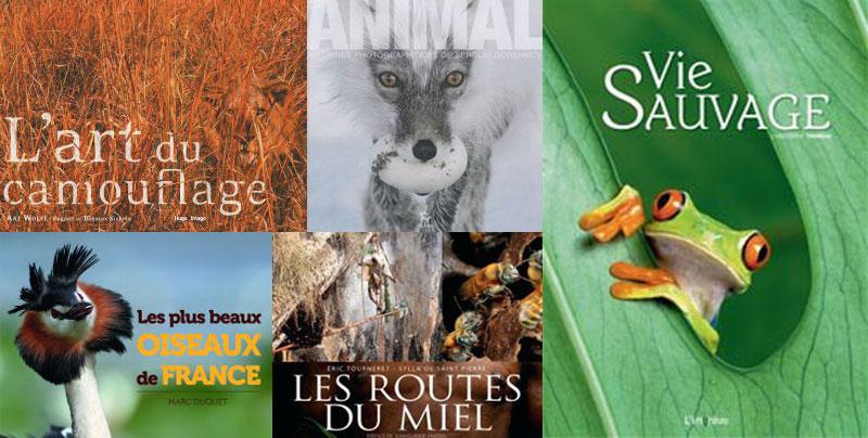top 5 des plus beaux livres sur les animaux et la nature