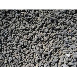 pouzzolane noire ou autres sol noir compatible avec des crevettes